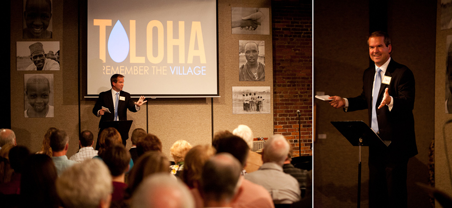 David Sawyer was our Master of Ceremonies for the night. He shared his heart and passion for Toloha.